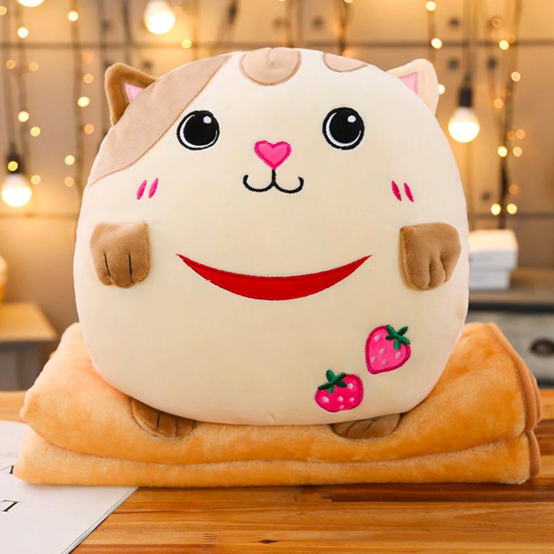 Soft Kawaii Cat Plush