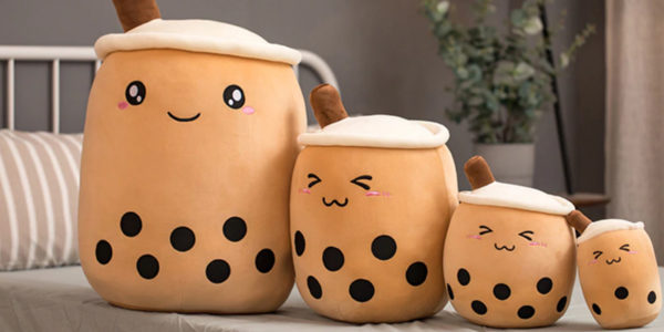 Boba Bubble Tea Plush Toy