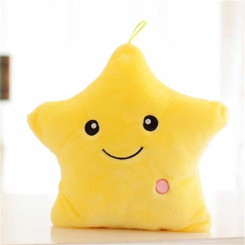 Glowing Led Star Plush Pillow Toy