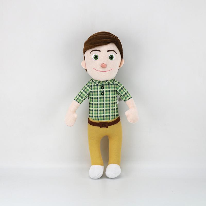 Stuffed Cocomelon Father Plush Doll