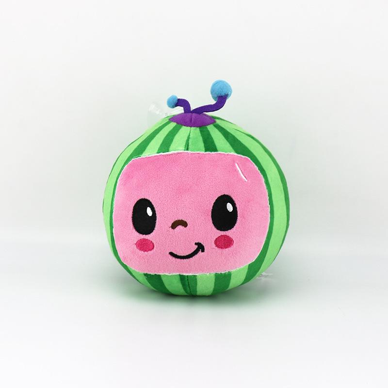 Stuffed Cocomelon Watermelon Plush Doll
