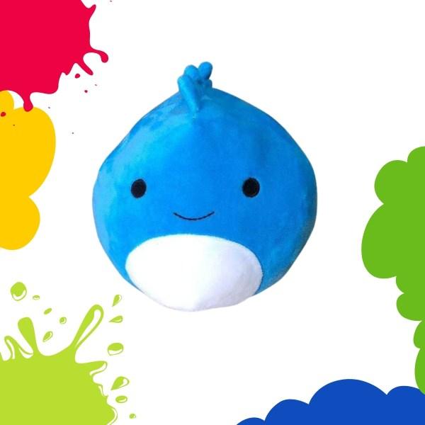 Squishmallows Blue Dinosaur Plush Toy
