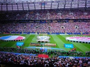 ワールドカップ決勝戦