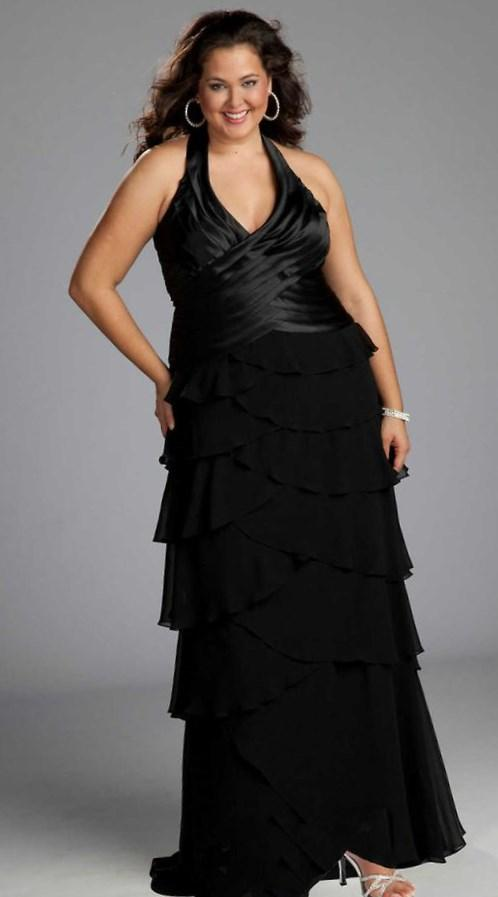Short Puffy Dresses Black Blue And