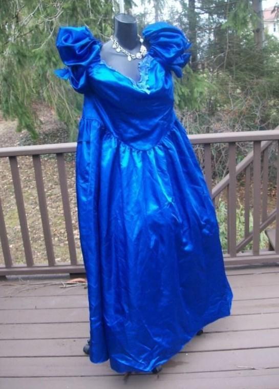 Plus size 80s prom dresses  PlusLookeu Collection