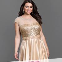 Beautiful plus size prom dresses - PlusLook.eu Collection