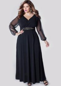 Plus Size Ankle Length Dresses - Discount Evening Dresses