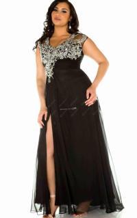 Sexy black dresses plus size - PlusLook.eu Collection