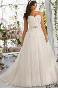Plus size wedding dress designer - PlusLook.eu Collection