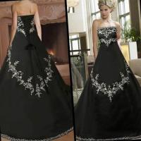 Black plus size wedding dresses - PlusLook.eu Collection