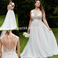 Plus Size Beach Wedding Dresses Cheap - Junoir Bridesmaid ...