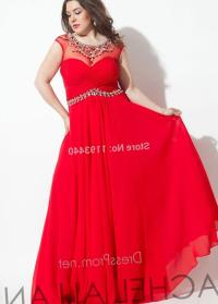 Plus size red prom dresses - PlusLook.eu Collection