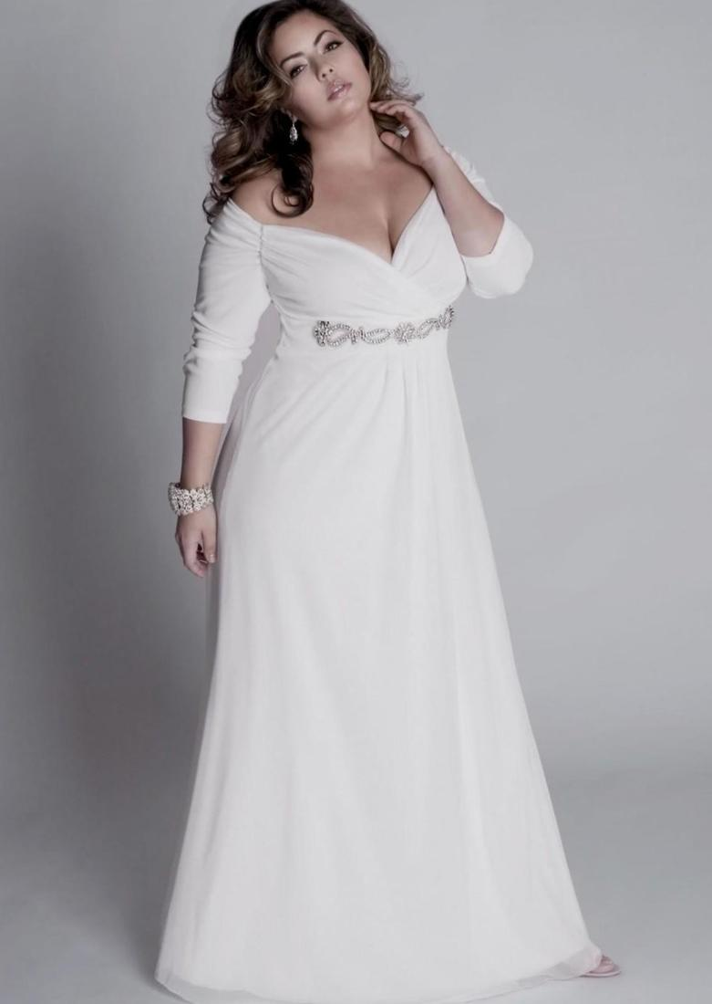 Plus size informal wedding dresses  PlusLookeu Collection
