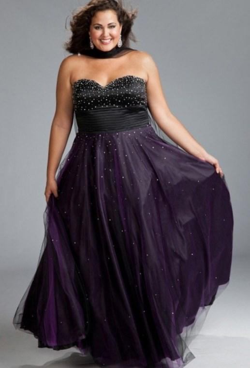 Black Plus Size Masquerade Ball Gowns