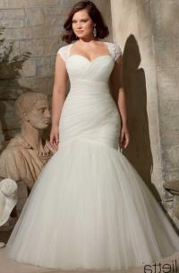 Best wedding dress styles for plus size - PlusLook.eu ...