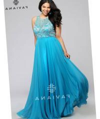 Plus size blue bridesmaid dresses - PlusLook.eu Collection