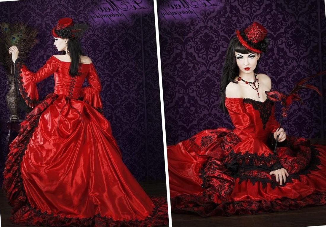 Plus Size Victorian Dress