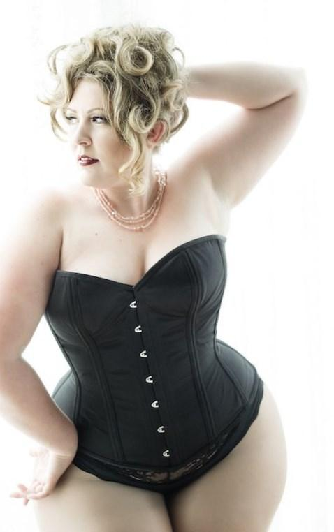 Plus size corsets dresses  PlusLookeu Collection