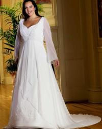 Plus size western wedding dresses - PlusLook.eu Collection
