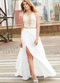 White plus size prom dresses - PlusLook.eu Collection