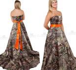 Plus Size Camo Wedding Dresses