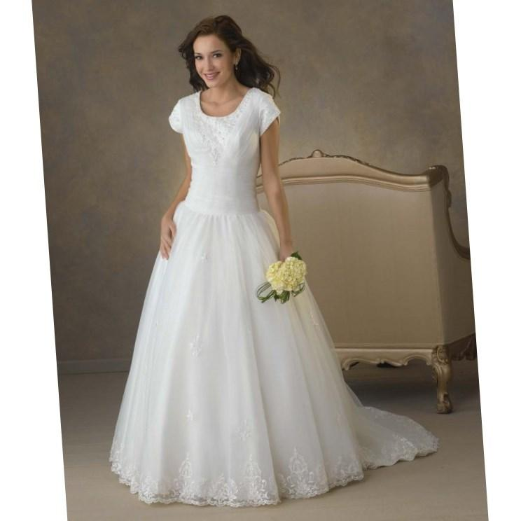 Wedding dresses for plus size mature brides