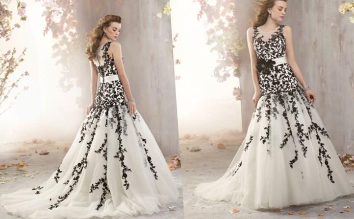 Colored Wedding Dresses Plus Size