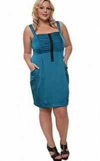 Junior plus size dress - PlusLook.eu Collection
