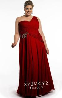 Red prom dress plus size - PlusLook.eu Collection