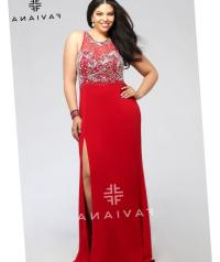 Red party dresses plus size - PlusLook.eu Collection
