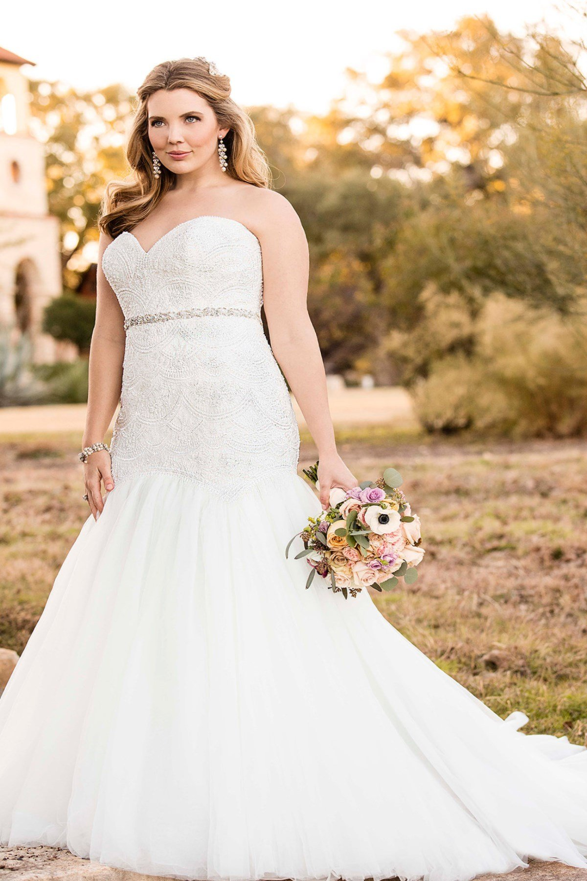 Plus size fall wedding dresses  Bridal Gowns 2018  PlusLookeu Collection and new looks