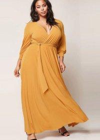 Plus size fall maxi dresses 2018 - PlusLook.eu Collection