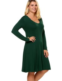Plus size fall dress 2018 - PlusLook.eu Collection