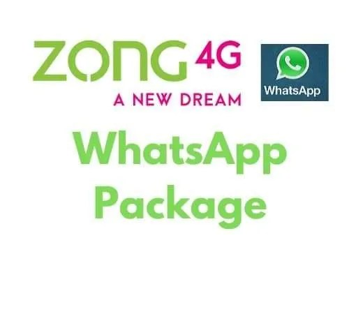 Zong whatsapp package