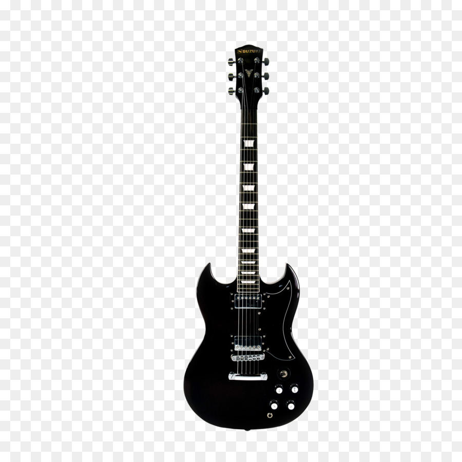 Acoustic Guitar PNG Black And White Transparent Acoustic