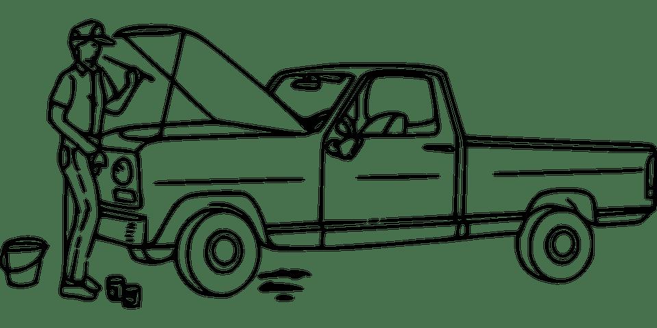Auto Mechanic PNG Black And White Transparent Auto