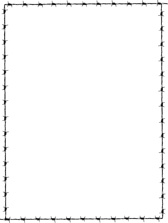 Barbed Wire PNG Border Free Transparent Barbed Wire Border