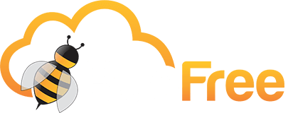 bee free png transparent