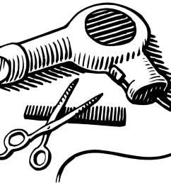 blow dryer and scissors clipart clipart blow dryer and scissors png [ 1600 x 1306 Pixel ]