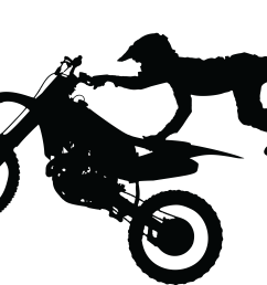free clipart of a silhouetted man catching air on a dirt bike 0001848  [ 4000 x 2724 Pixel ]