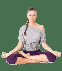 Transparent Women Yoga
