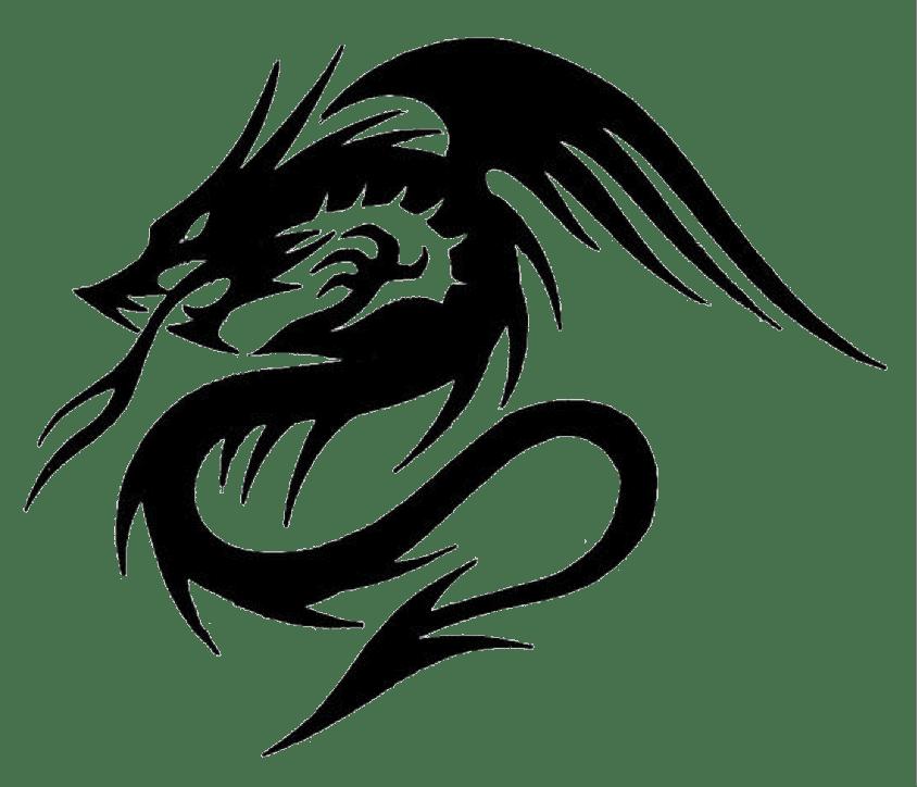dragon tattoos png transparent