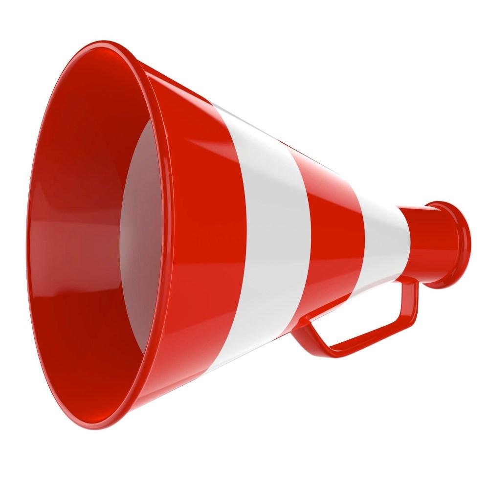 medium resolution of cheerleader megaphone clipart free png megaphone announcement