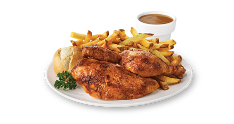 chicken food grilled fried dinner half transparent grill pluspng