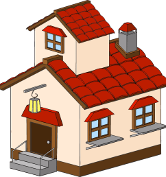 house clipart png image 4708 house clipart png [ 2144 x 2176 Pixel ]
