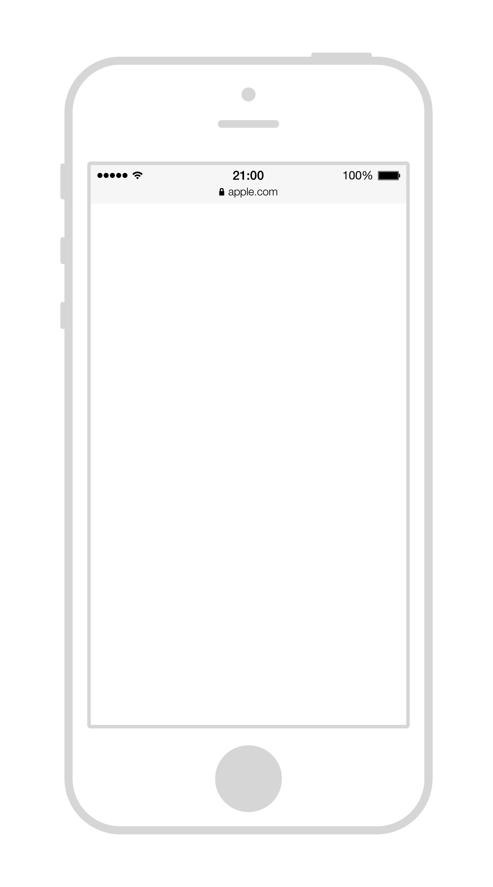 Iphone PNG Black And White Transparent Iphone Black And