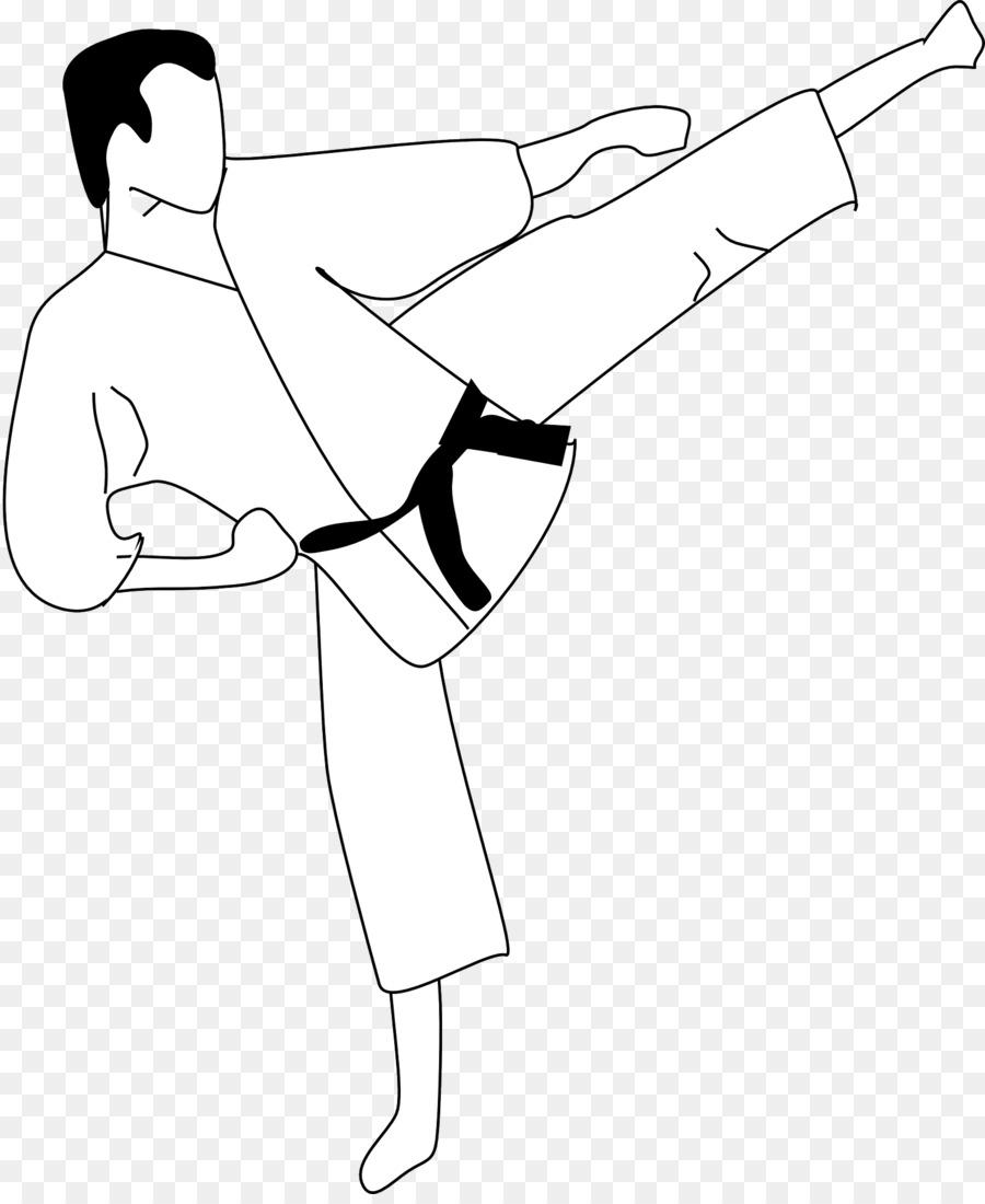 Kick PNG Black And White Transparent Kick Black And White