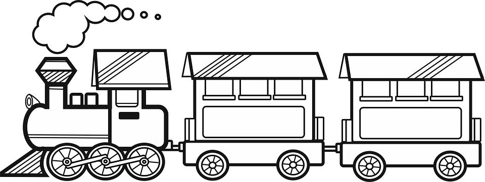Land Transportation PNG Black And White Transparent Land