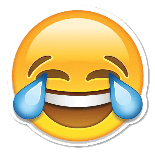 Laughing Smiley Face Text