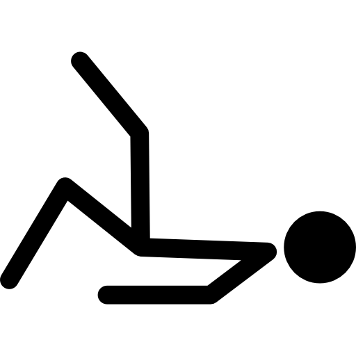 Figure Stick Laying Down